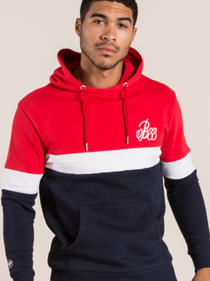 BEE INSPIRED SETANA OVERHEAD HOODIE – RED