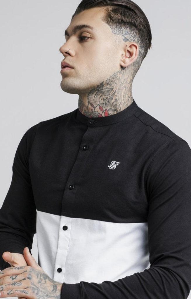 siksilk-cut-and-sew-l-s-grandad-collar-shirt-black-white-p2736-24519_image