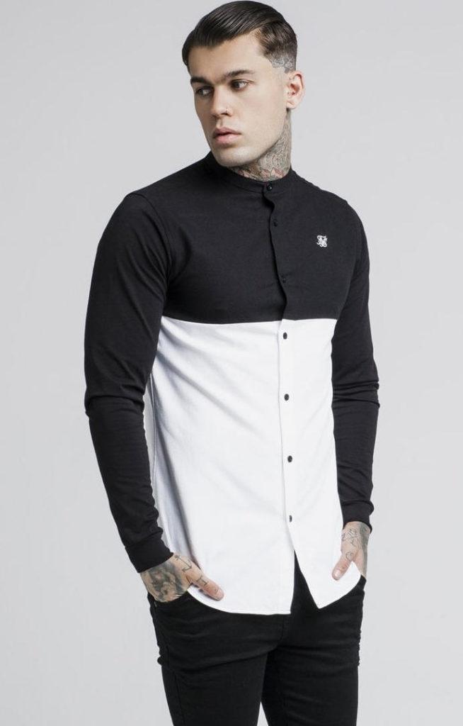 siksilk-cut-and-sew-l-s-grandad-collar-shirt-black-white-p2736-24520_image