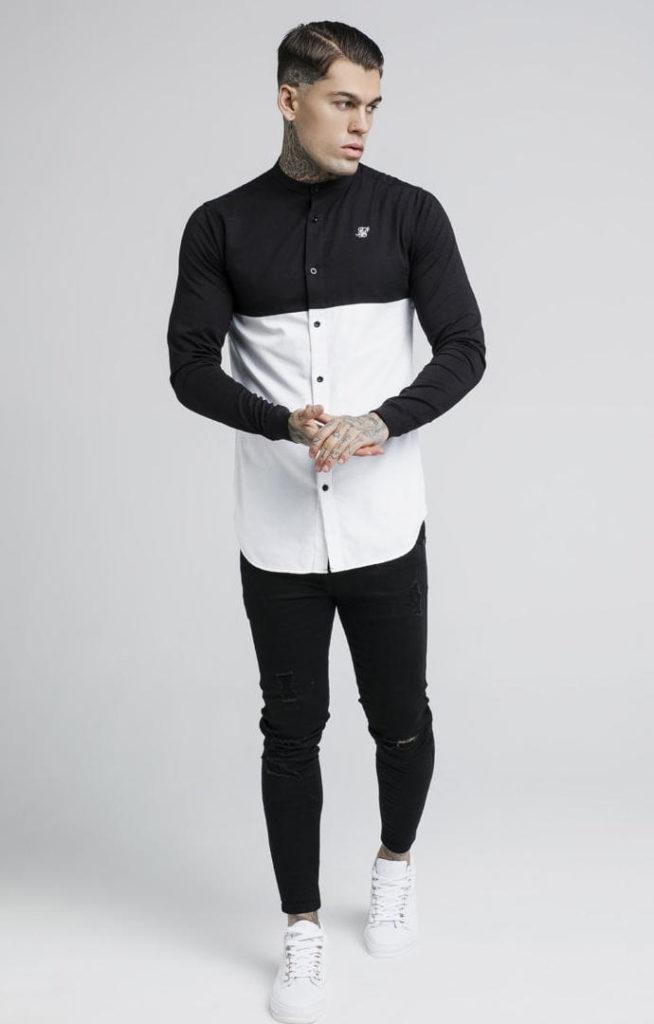 siksilk-cut-and-sew-l-s-grandad-collar-shirt-black-white-p2736-24522_image