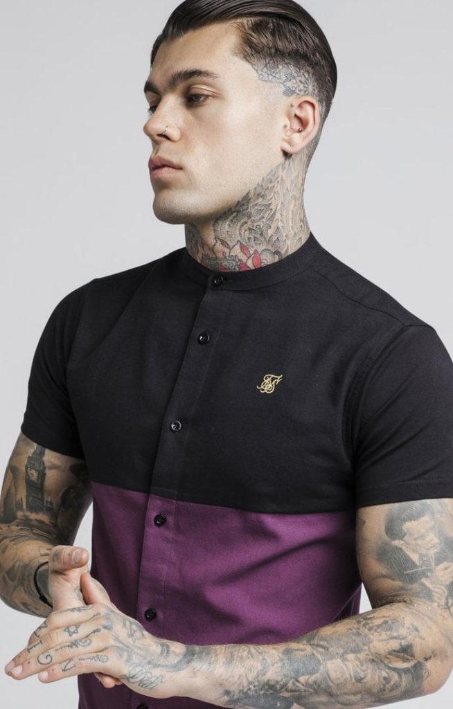 siksilk-s-s-cut-and-sew-grandad-shirt-burgundy-black-p2731-24500_image