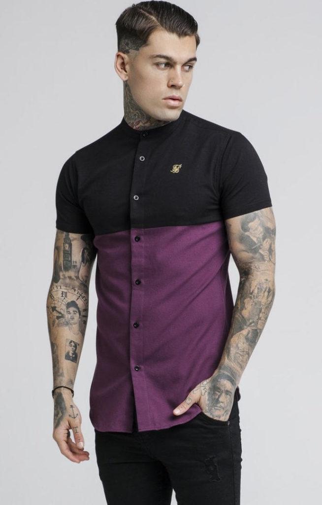 siksilk-s-s-cut-and-sew-grandad-shirt-burgundy-black-p2731-24501_image