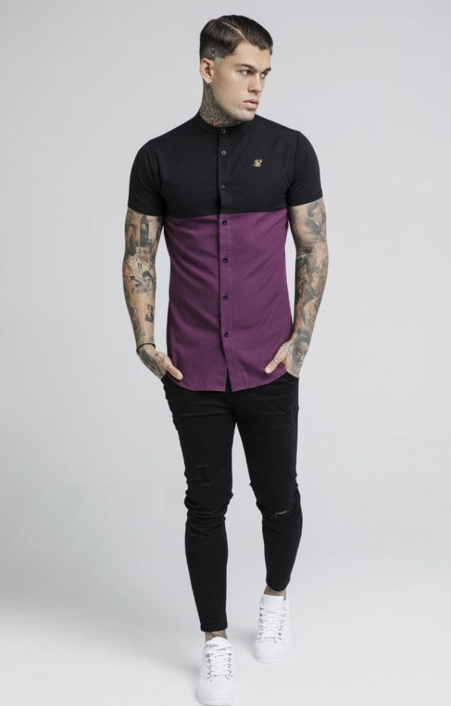 siksilk-s-s-cut-and-sew-grandad-shirt-burgundy-black-p2731-24503_image